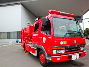 モーターショー ポンプ車(深川消防署)