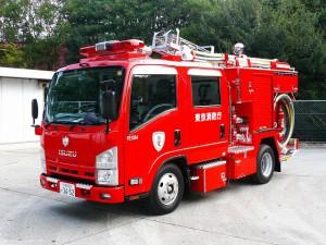 消防車(ポンプ車)②